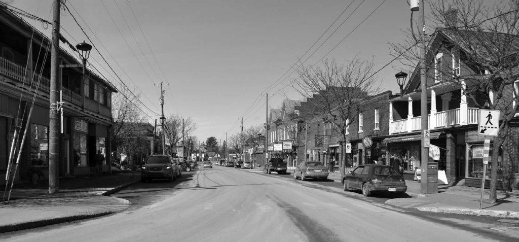 La rue Principale de Bedford