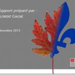 Le rapport Gagné, du sirop de poteau?