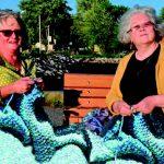 Mailles, mailles, mailles… les armandoises tricotent pour le Festiv'Art