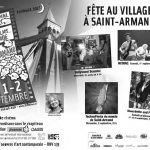 Fête au village à Saint-Armand