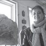 Johanne Mallette, sculptrice sur pierre