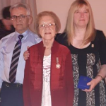 Gisèle Lauzon reçoit la médaille du gouverneur général
