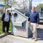 Recyclage du verre: Bedford montre la voie