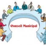 Conseil municipal du 9 septembre